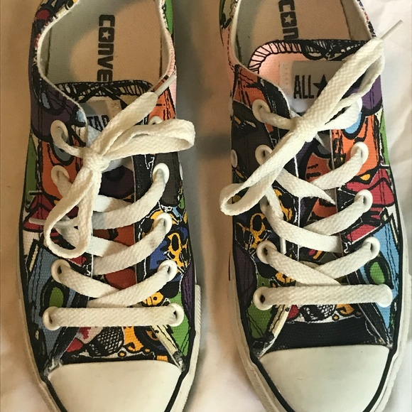 0aacc74f57a5 Converse Shoes - Converse Chuck Taylor All Star Stickers Pattern 6